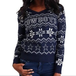 Dallas Cowboys Bluetooth Ugly Christmas Sweater